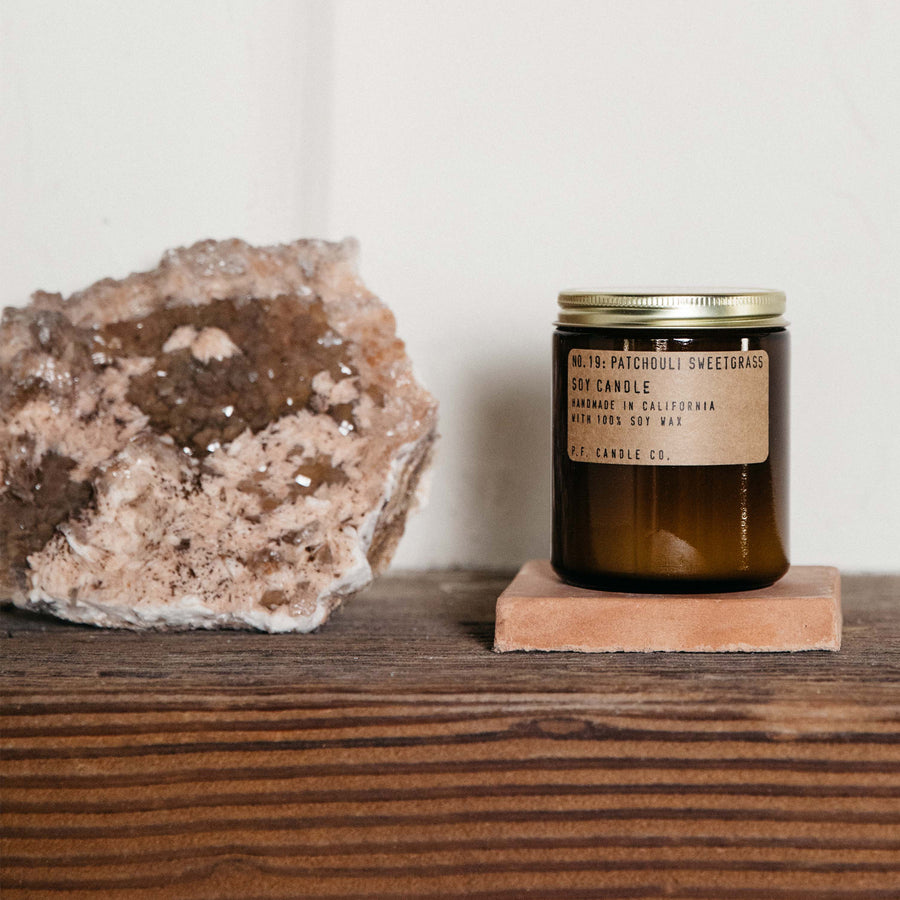 Patchouli Sweetgrass - P.F. Candle
