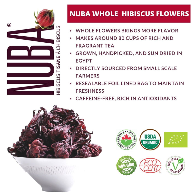 Organic Whole Hibiscus Flowers