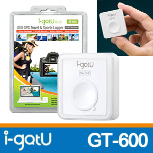 i-gotU USB GPS Travel /& Sports Logger GT-600
