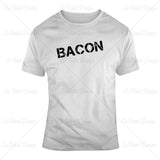 Bacon Retro Food T Shirt Design