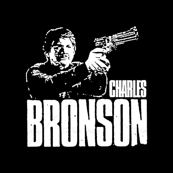 Charles Bronson Actor Movies T Shirt Design