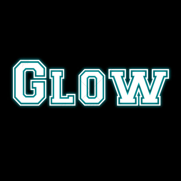 Glow Up Typography T Shirt Design