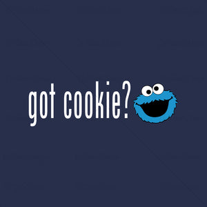 Cookie Monster Got Cookie Funny T Shirt Design