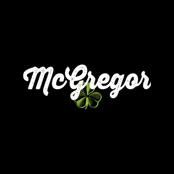 Irish McGregor MMA Mixed Martial Arts T Shirt Design