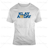Klay Thompson Klay All Day Basketball T Shirt Design