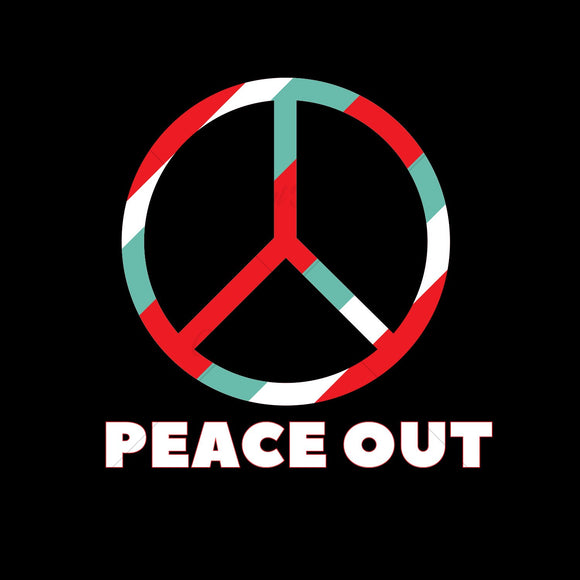 Peace Out Various T Shirt Design
