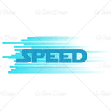 Speed Racing T Shirt Design
