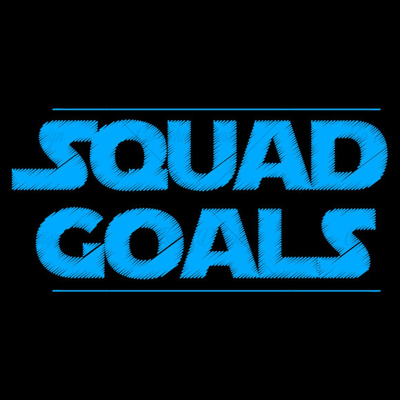 Squad Goals Special Event T Shirt Design