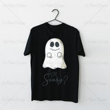 Am I Scary Halloween T Shirt Design