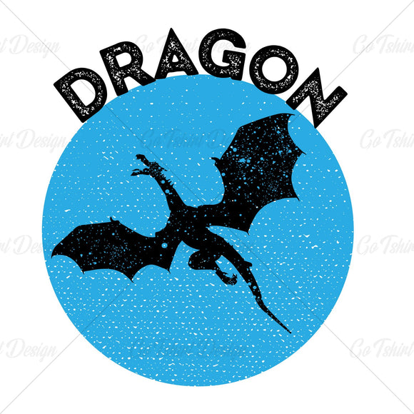 Dragon Various T Shirt Design