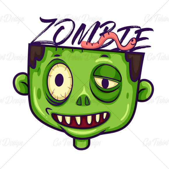 Zombie Halloween Horror T Shirt Design