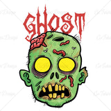 Zombie Ghost Halloween Horror T Shirt Design