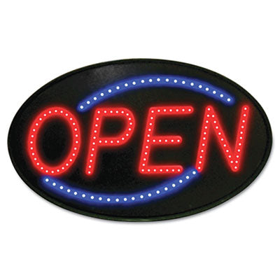 SIGN,LED OPEN,RD