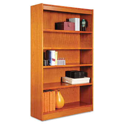 BOOKCASE,SQ,5S 36X60,MCH