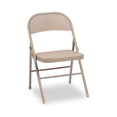 CHAIR,FLDING,W/2BRACE,TAN