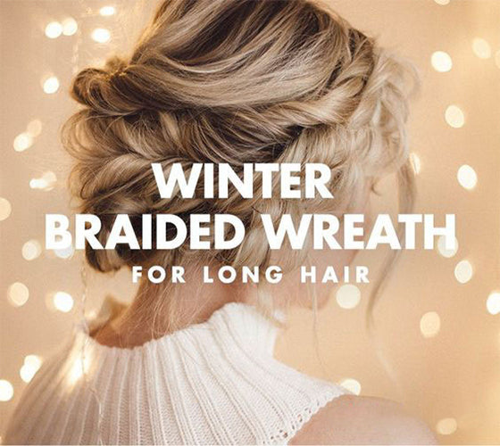 Braided Wreath Hairstyle