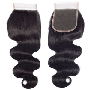 "Riverwood Body Wave Lace Closure 4""x4"""