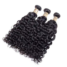 Load image into Gallery viewer, Riverwood 8A Water Wave Brazilian Human Hair Extension Natural Black Color