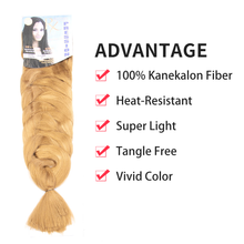 Load image into Gallery viewer, X-Pression Braiding Hair Premium Original Ultra Braid Hair #27