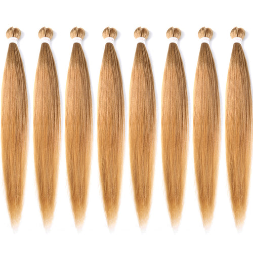 EC Braid Pre Stretched Braiding Hair 27# Professional Hair Yaki Synthetic Hair