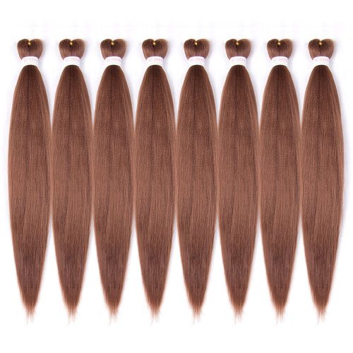 Pre-stretched EZ Braid Pre Stretched Braiding Hair 30# Professional Hair Yaki Synthetic Hair