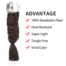 Load image into Gallery viewer, X-Pression Braiding Hair Premium Original Ultra Braid Hair #4