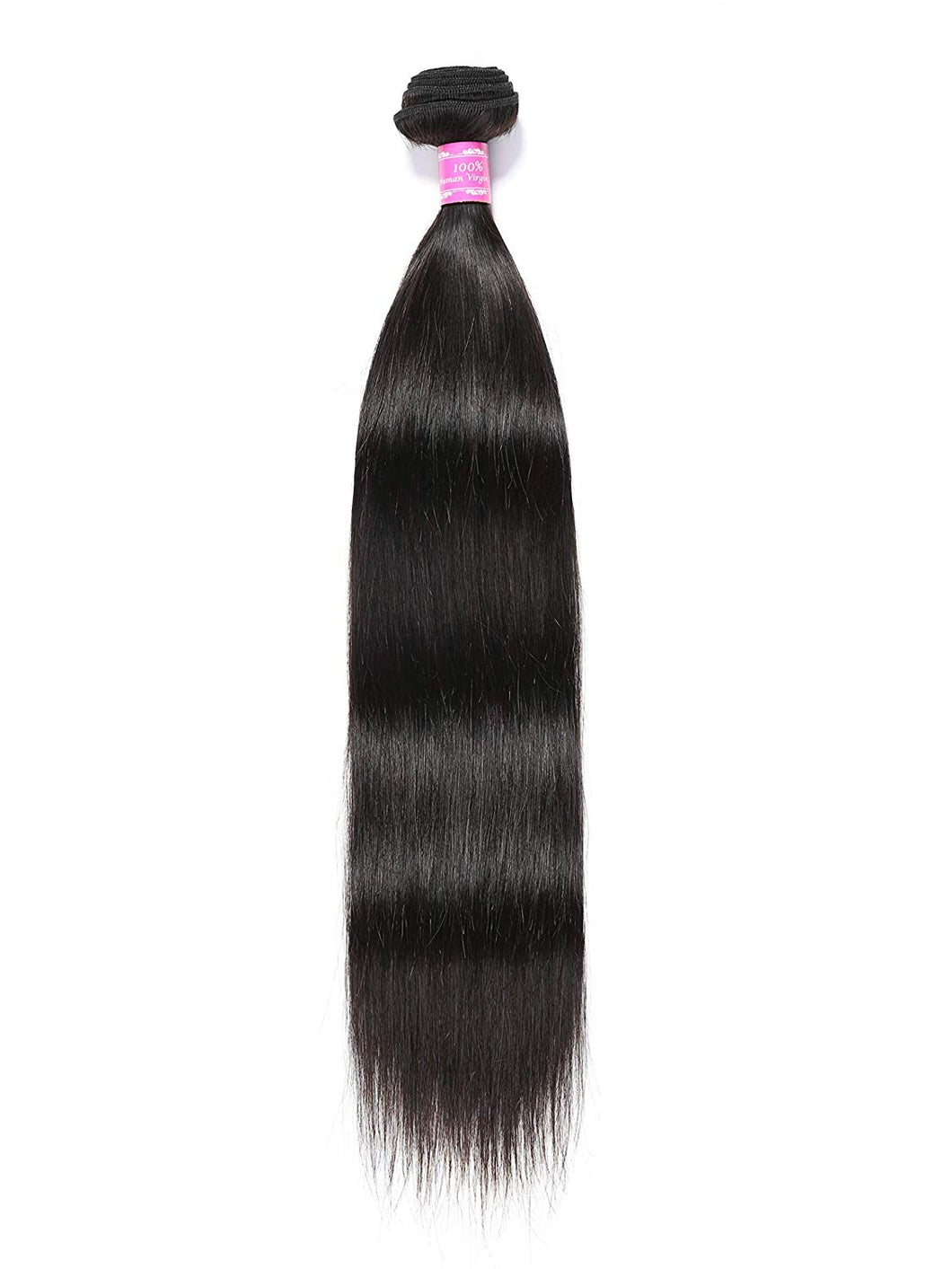 Brazilian Straight Human Hair 3 Bundles with 4*4 Free Part Closure