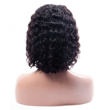 Load image into Gallery viewer, Short Water Wave Hair Bob Wigs - 13x4 Lace Front Human Hair Wigs