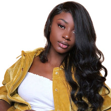 Load image into Gallery viewer, 3-Bundle Deal - 8A Body Wave Virgin Human Hair in Natural Black