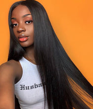Load image into Gallery viewer, Brazilian Straight Human Hair 3 Bundles with 4*4 Free Part Closure