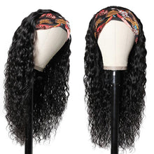 Load image into Gallery viewer, Riverwood Water Wave Headband Wigs Brazilian Glueless Human Hair Wigs Natural Color