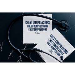 Chest Compression x3 Sticker