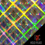 Holographic iPhone Case-Holo Plaid-HoloCases