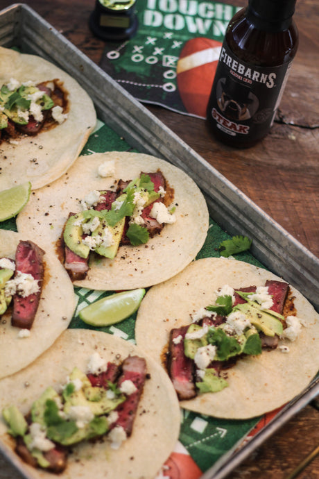 STEAK TACOS FIREBARNS