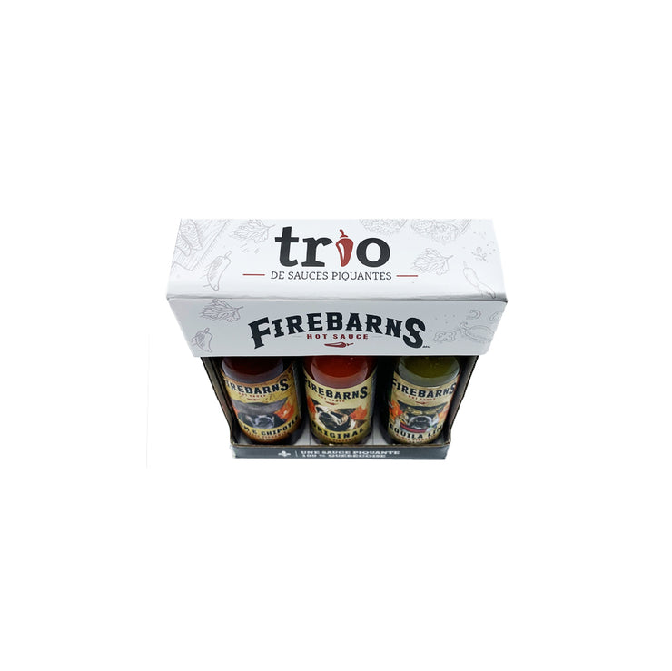 TRIO FIREBARNS