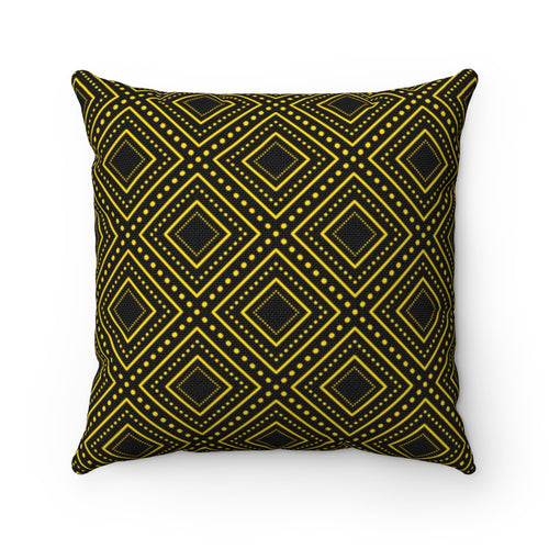 Diamond Crest Polyester Throw Pillow Cover - Pillow Treat
