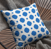 Ocean Ropes Faux Suede Throw Pillow Cover-Pillow Treat