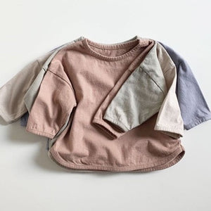 Baby Soft Piping Tee Long sleeve