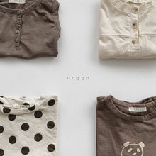 Load image into Gallery viewer, Crepe Button Tee