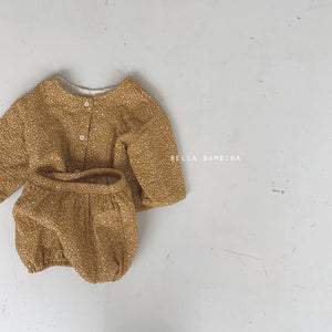 Baby Mooni Cardigan Bloomer Set