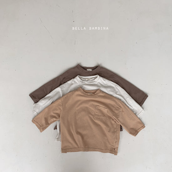 Nano Pocket Long sleeve Tee