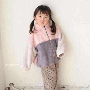 Boa Zip-Up Fleece Jacket - OYlalakids