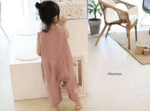 Rose Overall Jumpsuit