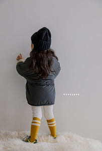 Ribbed Fleece Leggings - OYlalakids