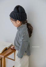 Load image into Gallery viewer, Stripe Turtleneck Tee - OYlalakids