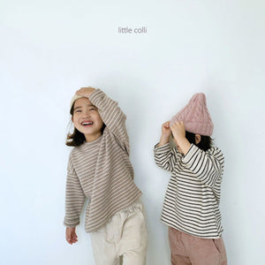 Lala Soft Striped Tee - OYlalakids