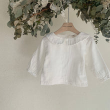Load image into Gallery viewer, Baby Ezra Collar Blouse