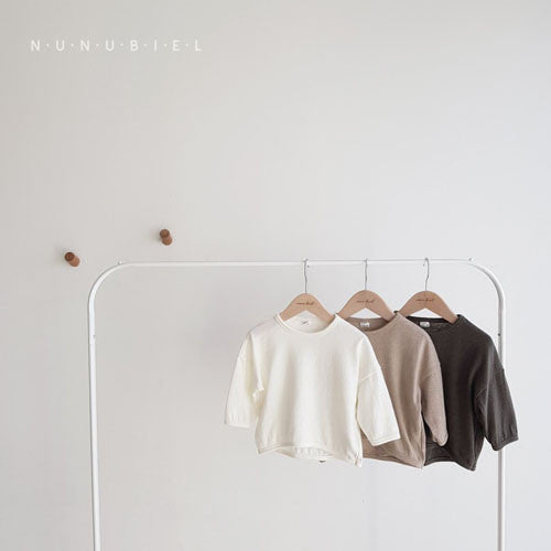 Soft Natural Loose Tee Long sleeve