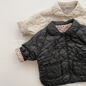 Bronx Quilted Jacket w matching Mama Jacket