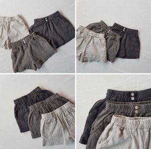 Theo Linen Shorts